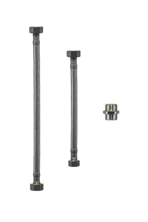 riva filter-flexibles Trink-Wasserfilter- Anschluss-Set für die Spüle, Waschbecken