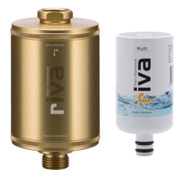 riva-DUSCH-filter-legionellen-CHAMPAGNER-Vario-Gehäuse-Kartusche-Legionellen-Bakterien-filter-gold