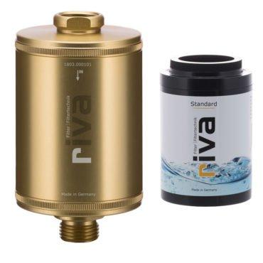 riva-DUSCH-filter-SET-KARTUSCHE-STANDARD-haut-haarpflege-mineralien-chlor-filter-schadstoffe-kalk-gold