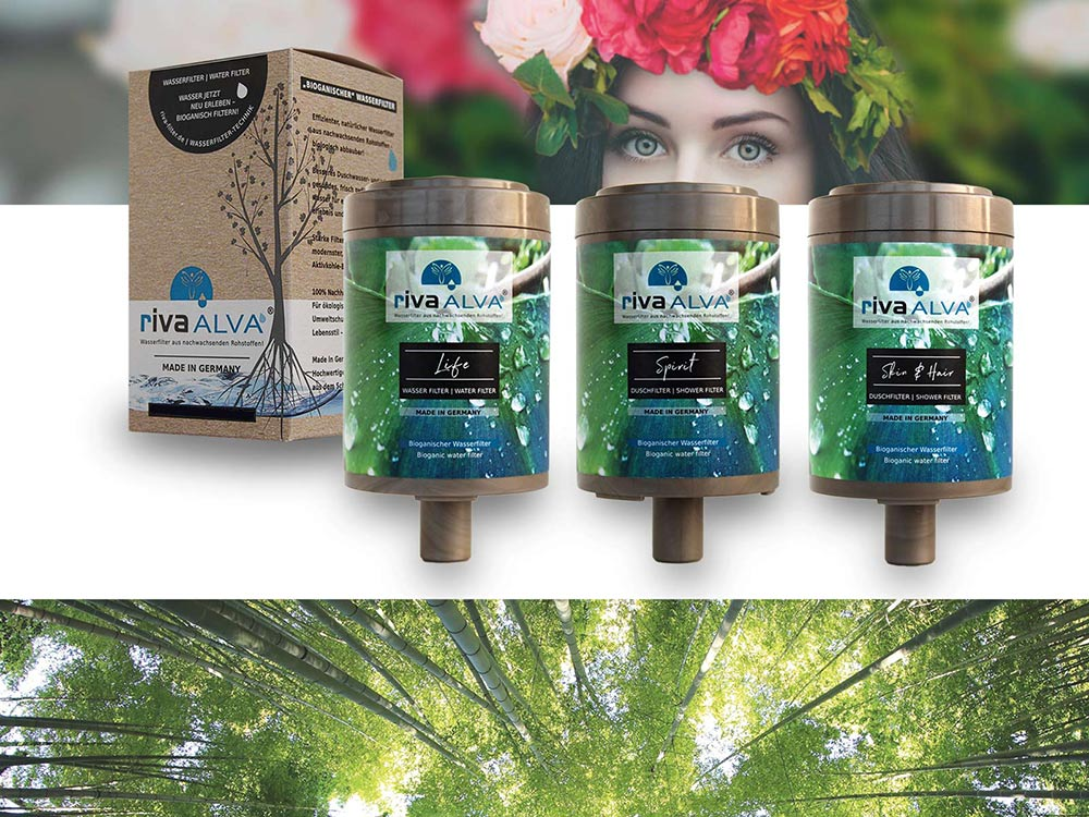 riva alva-wasserfilter-revolution-bioganische kartuschen aus nachwachsenden rohstoffen