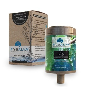 Trinkwasserfilter Ersatzkartusche riva-alva-life-kartusche-bioganisch-wasserfilter-wasseraufbereitung