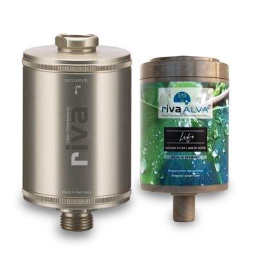 riva alva life trinkwasser filter set champagner 1000 1