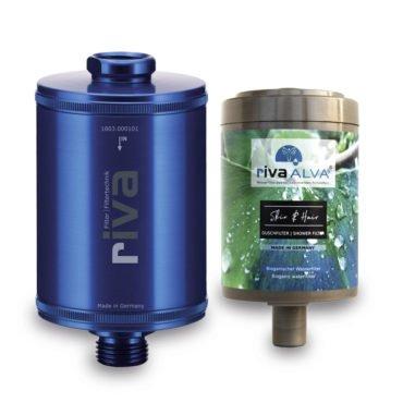 riva-alva-skin-hair-dusch-filter-set-blau-bioganisch