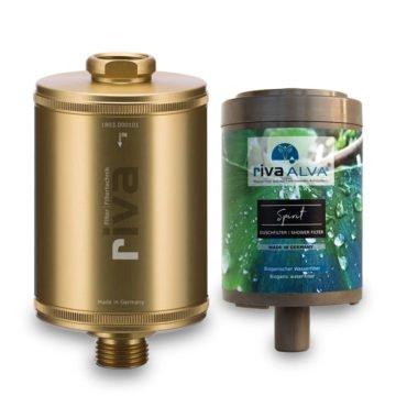 riva-alva-spirit-schungit-dusch-filter-set-gold-bioganisch