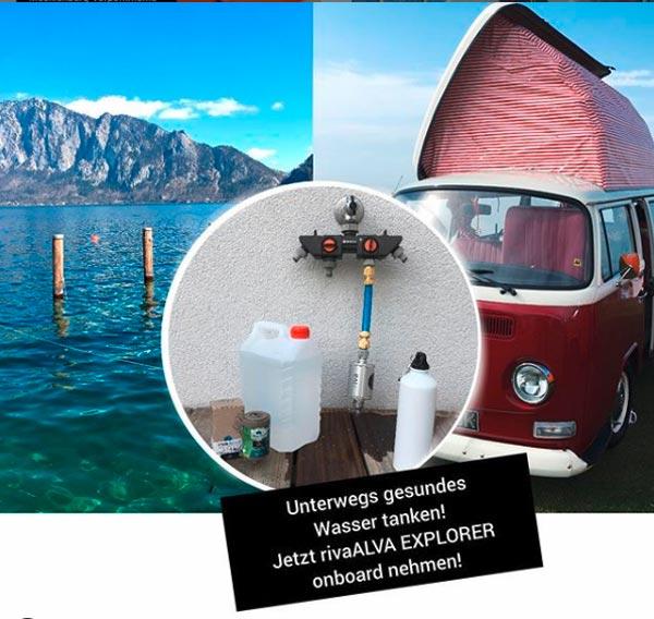 rivaALVA-Explorer-Trinkwasserfilter-Camper-Van-Reise-Mobil-Bus-plastikfrei-biologisch-CO2-neutral