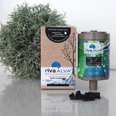 rivaALVA-spirit-Duschfilter -Schungit-bioganisch