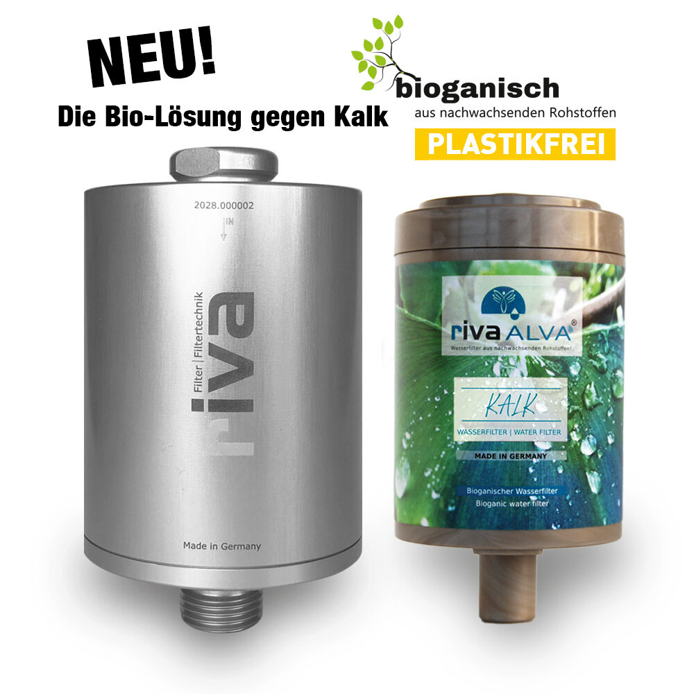 rivaALVA-Kalk-Kalkschutz-Kalkfilter-wasserfilter gegen Kalk-Duschfilter-Universalfilter